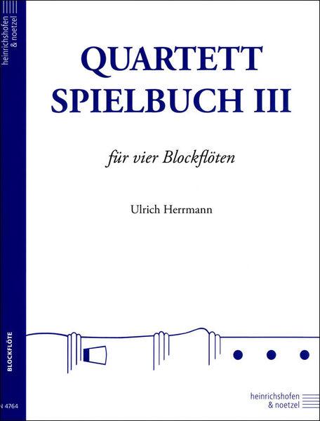 Heinrichshofen's Verlag Quartett-Spielbuch Blockflöte3