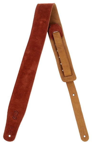 """Levys Rust Suede Strap 2,5"""""""