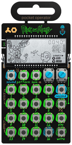 PO-137 rick & morty Teenage Engineering