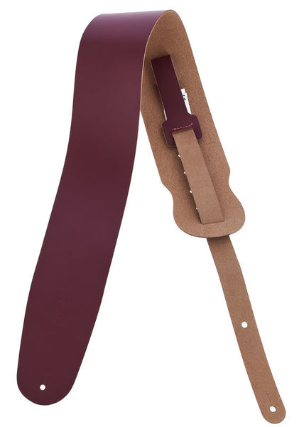 "Levys Leather Strap 3,5"" BRG"