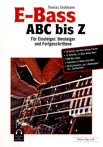 Edition Hug bass guitar ABC bis Z