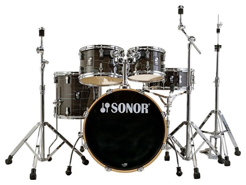 Sonor AQ1 Studio Set Woodgrain Black