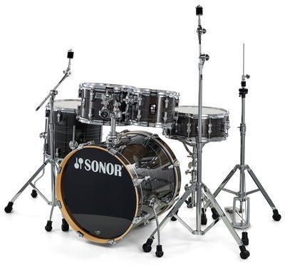 AQ1 Studio Set Woodgrain Black Sonor