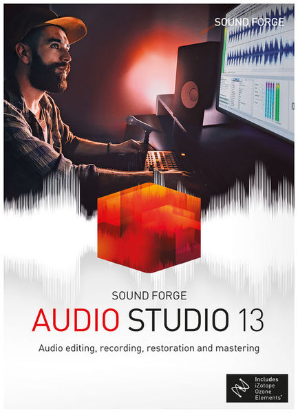 Magix Sound Forge Audio Studio 13