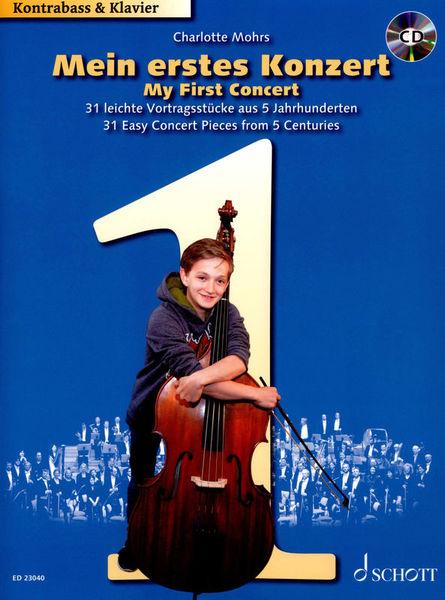 Schott Mein erstes Konzert Kontrabass