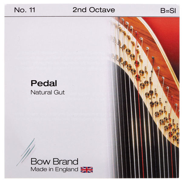 Bow Brand Pedal Nat. Gut 2nd B No.11