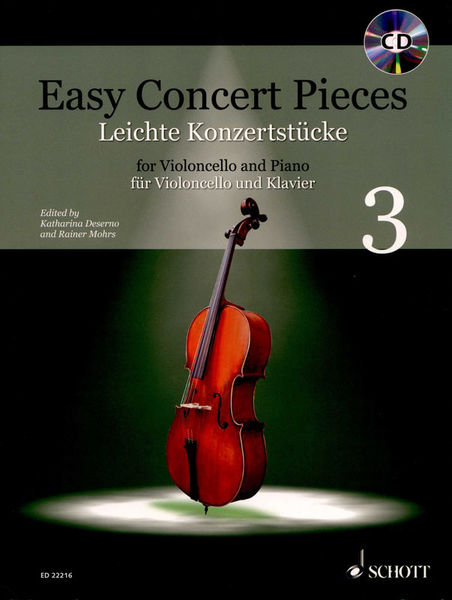 Schott Easy Concert Pieces Cello 3