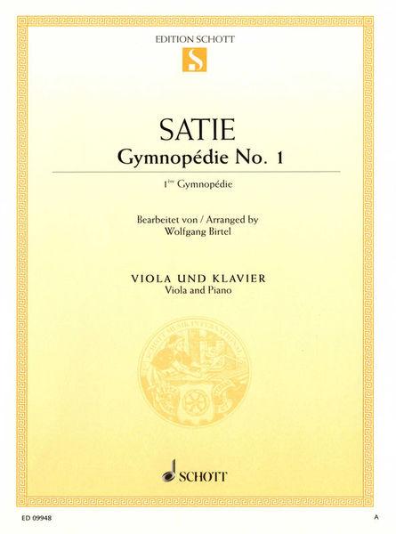 Schott Satie Gymnopédie Nr. 1 Viola