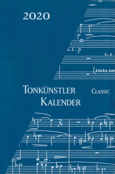 Musikverlag Robert Lienau Tonkünstler-Kalender 2020