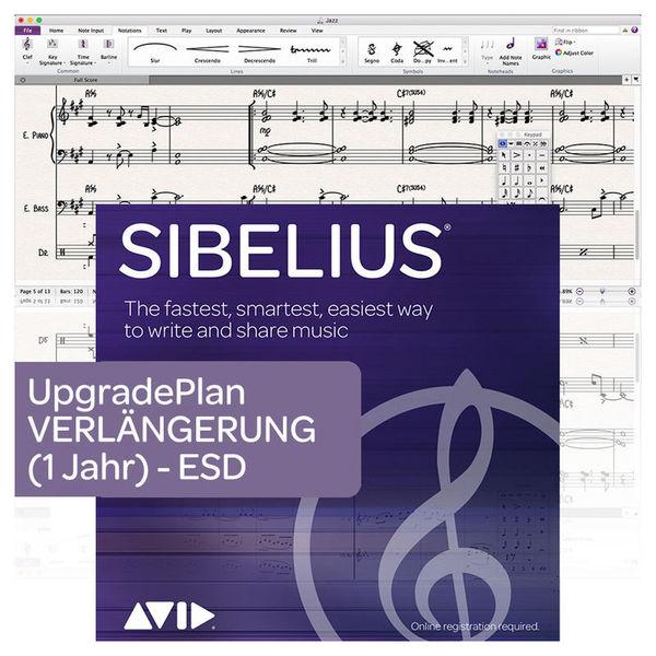 Avid Sibelius Upgrade Plan Renewal