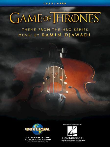 Hal Leonard Game Of Thrones Cello