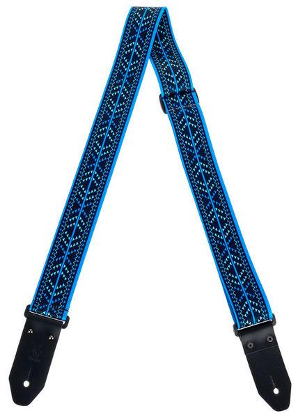 Minotaur Guitar Strap Jacquard Bleu
