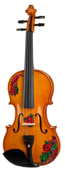Rozanna`s Violins Butterfly Rose Tattoo Violin N
