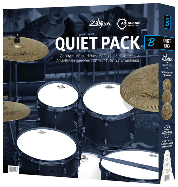 Quiet Pack Super Mesh I Zildjian