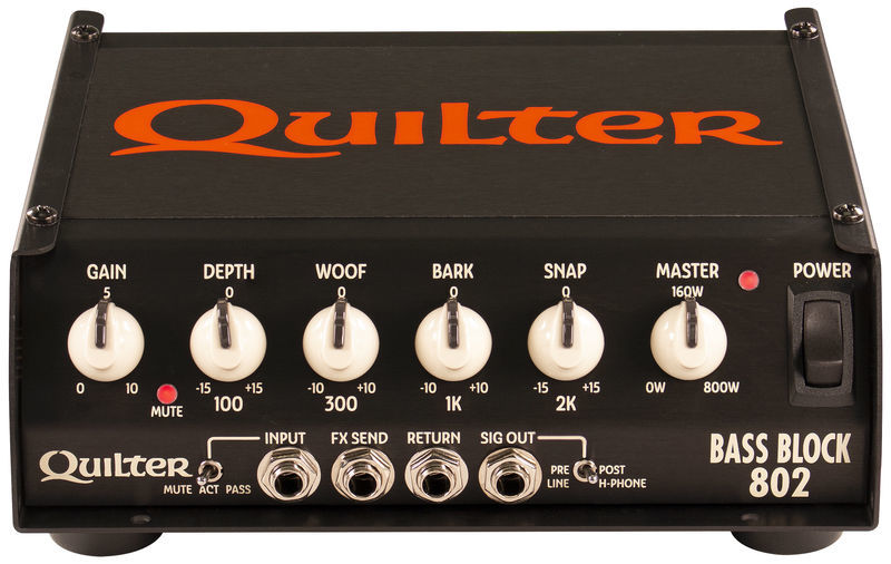 Quilter Bass Block 802 Bass Head