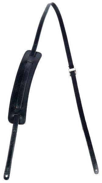 "Levys 50's Leather Strap 5/8"" BK"