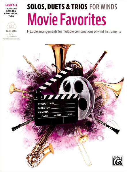 Alfred Music Publishing Movie Favorites Trombone