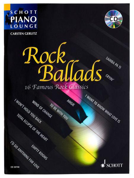 Schott Rock Ballads 1 Piano