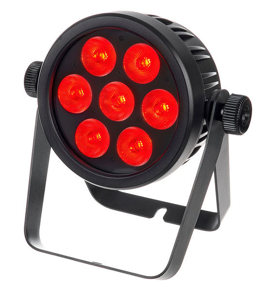 LED 4C-7 Silent Slim Spot Eurolite