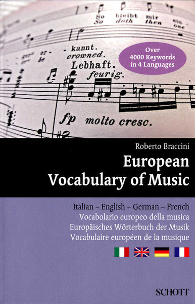 Schott European Vocabulary Of Music