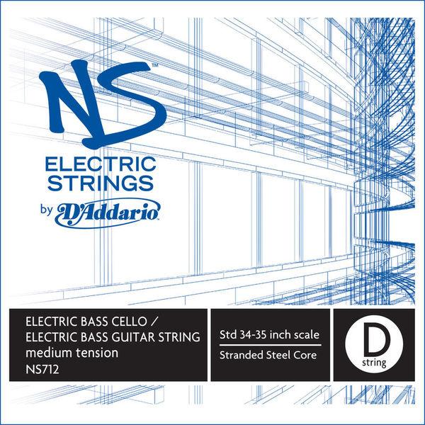 Daddario NS712 Electric Bass/Cello D