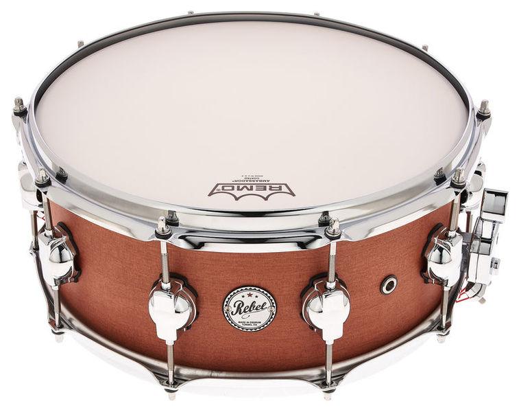 """DS Drums 14""""x06"""" Super Nature Mahogany"""