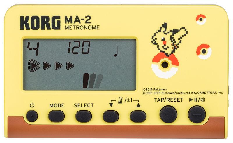KORG MA-2 RD Digitales Metronom