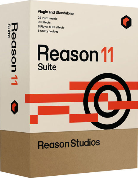 Reason 11 Suite Reason Studios