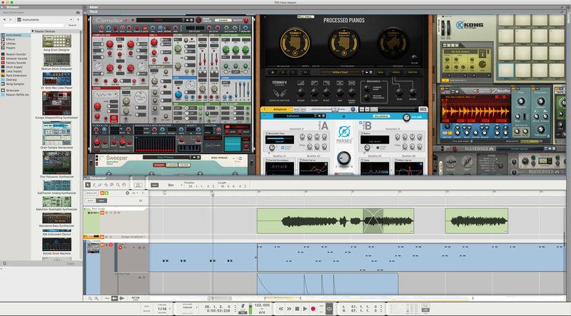 Reason Studios Reason 11 Suite Upgrade