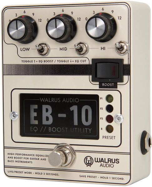 Walrus Audio EB-10 CREAM Walrus Audio