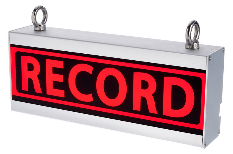 Stairville Record Sign