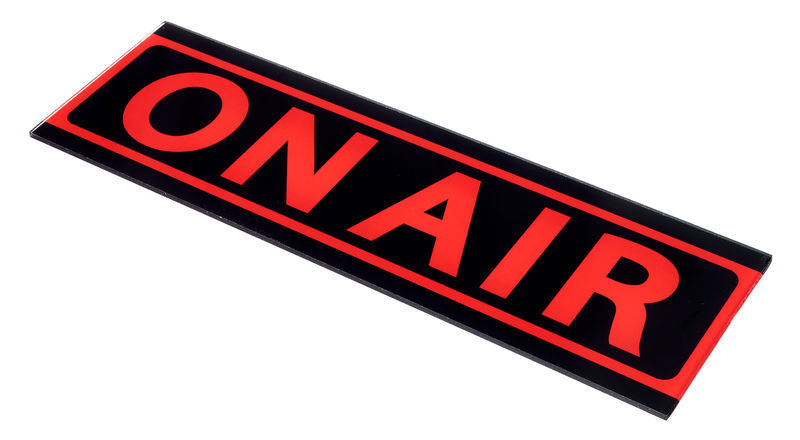 """Stairville Sign """"ON AIR"""""""