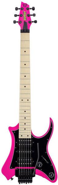 Traveler Guitar V88S - Vaibrant Standard Pink