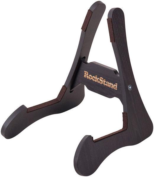 Rockstand Wood A-Frame Stand Rustic Oak
