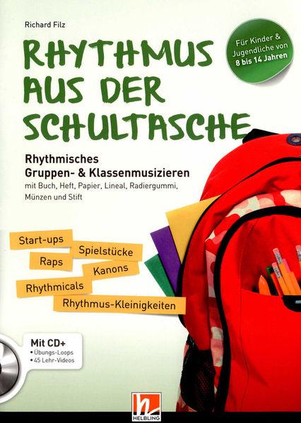 Rhythmus aus der Schultasche Helbling Verlag