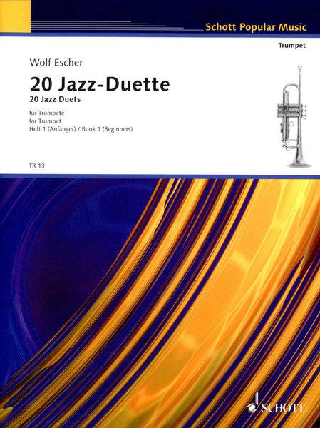 Schott 20 Jazz-Duette Vol.1
