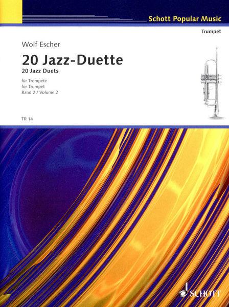Schott 20 Jazz-Duette Vol.2