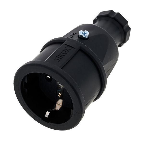 Sirox Solid Rubber Connector Bk