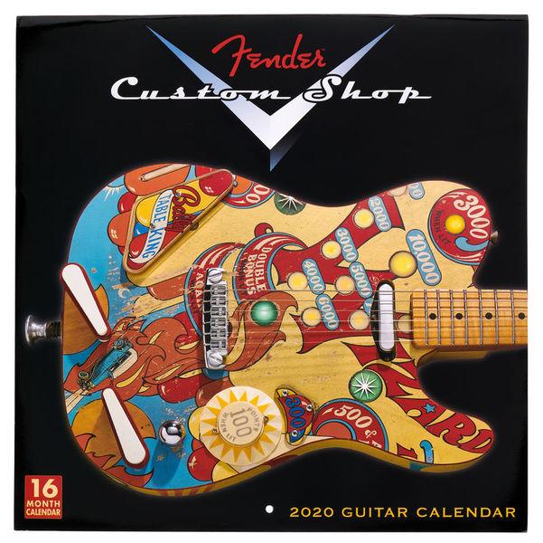 Fender Custom Shop Calendar 2020