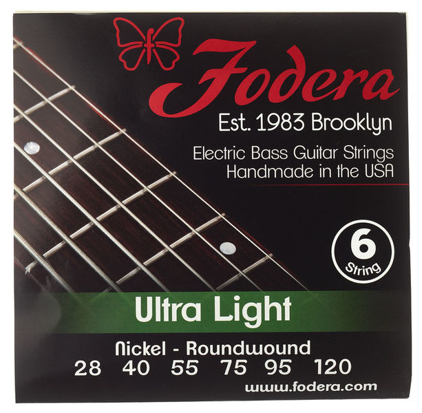 Fodera 6-String Set Ultra Light N
