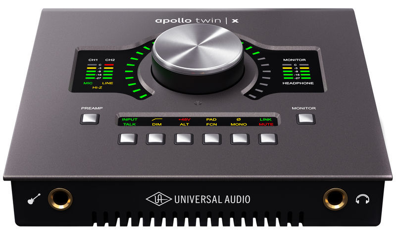 Apollo Twin X Quad Universal Audio