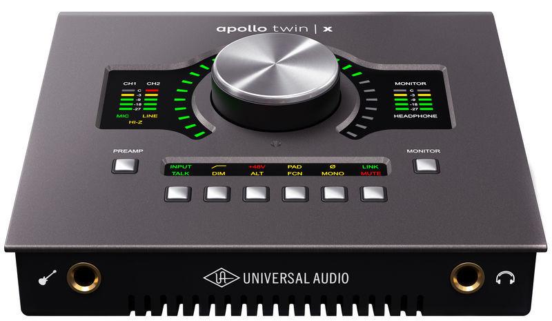Apollo Twin X Quad Universal Audio