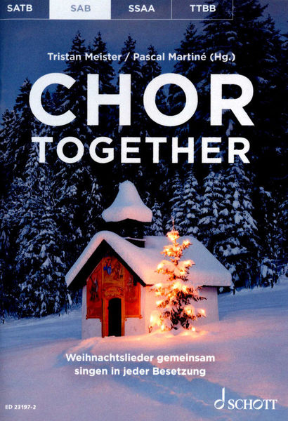 Schott Chor Together Christmas SAB