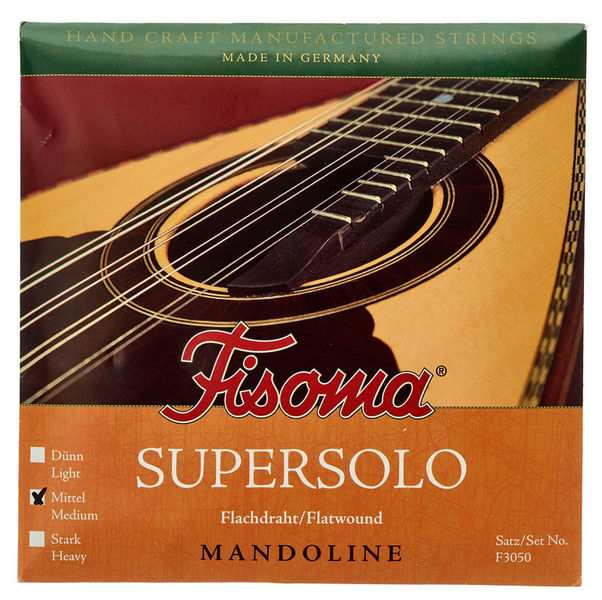 Fisoma F3050M Flatwound Mandolin Str.