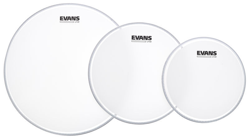 Evans UV2 Coated Tom Pack 10/12/16