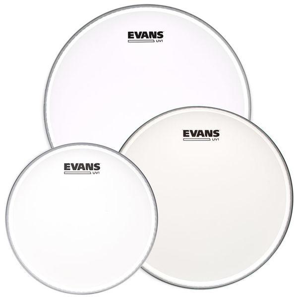 Evans UV1 Coated Tom Pack 10/12/14