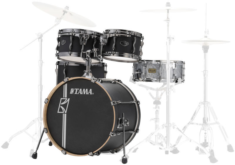 Tama Superstar H.Maple+Snare FBK
