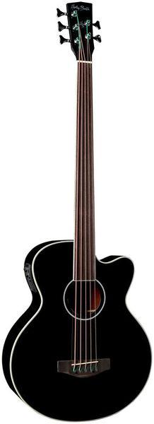 B-35BK-FL Acoustic Bass Series Harley Benton