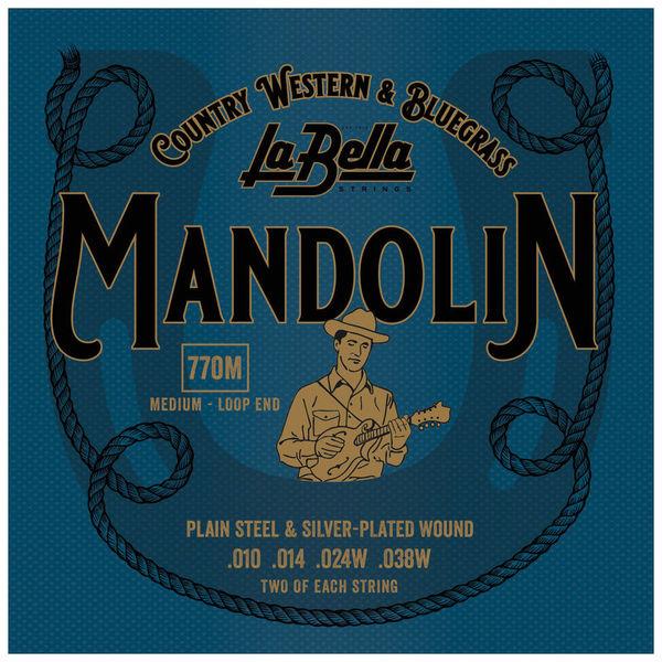 La Bella 770 M Mandolin 010//038
