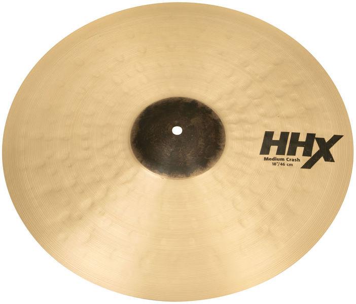 """Sabian 18"""" HHX Medium Crash"""